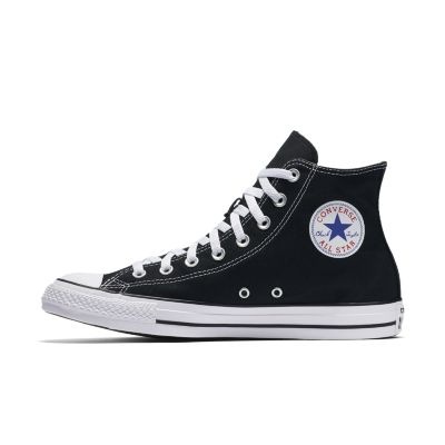 converse black high tops