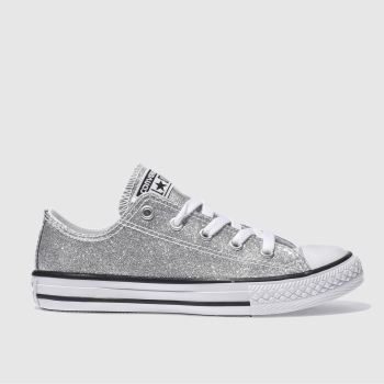 Silver Converse : Converse Online Chuck Taylors and All